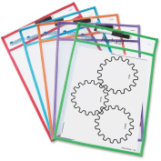 Learning Resources Write-and-wipe Pockets
