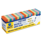 Pacon Blank Flash Card Assorted Dispenser Boxes