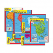 Trend Continents Learning Chart