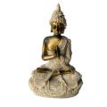 Generic The Hue Sandstone Meditation Buddha Statue Sculpture Hand Carved Figurine #2