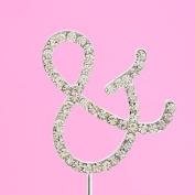 4,5cm Diamante Cake Letter &