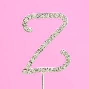 4,5cm Diamante Cake Letter Z