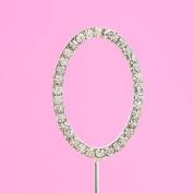 4,5cm Diamante Cake Letter O