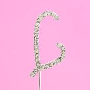 4,5cm Diamante Cake Letter L
