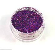 Glitter Pot - GH80 Holographic Violet Chunky Glitter Eye Eye shadow Nail Art Face And Body