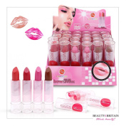 24 x Lipstick Set Full Size Many Different Shades Display Box Wholesale UK