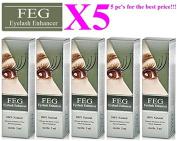 SET: 5X FEG Eyelash enhancer. The most powerful eyelash growth Serum 100% Natural. Promote rapid growth of eyelashes. 100% Original with Anti-Fake sticker!!! + GIFT