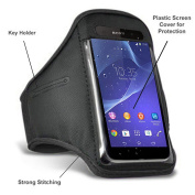Sony Xperia Z3 / Sony Xperia Z2 / Sony Xperia Z1 / Sony Xperia M2 / Sony Xperia E3 Sports Running Jogging Gym Fitness Armband Case Cover