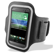 TypeandColor® Universal Sports Running Armband For HTC One A9 / HTC M8S / HTC One M9 / HTC Desire 626 / HTC Desire 620 Phone Case Cover Pouch Sleeve Gym Exercise