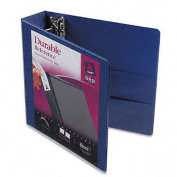 Avery Durable Two-Inch Blue Vinyl-View Binder