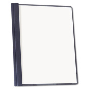 Universal Dark Blue Clear Front Report Cover