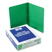 Green Leatherette Front Report Covers