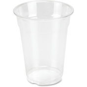 Genuine Joe 270ml Clear Plastic Cups