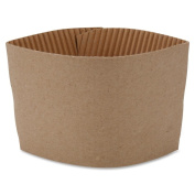 Genuine Joe Protective Corrugated Cup Sleeves