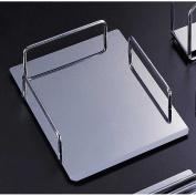 Reflections Chrome-finish Metal Document/Letter Tray Desk Assessory