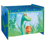 Disney The Good Dinosaur Toy Box by HelloHome, Wood, Blue