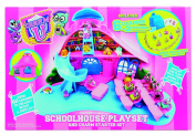 Vivid Imaginations Series 1 Charm U Kids Collectable Toy Schoolhouse Playset and Starter Set