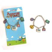 Official Adventure Time Jake Finn BMO Beemo Lumpy Space LSP Princess Bubblegum Charm Bracelet