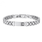 2Jewels My President Stainless Steel Cubic Zirconia Bracelet of 20.5 cm Length 231509