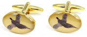 Soprano Flying Pheasant Country Cufflinks