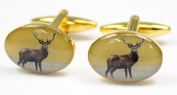Soprano Standing Stag Country Cufflinks