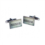 Believe You Can & You Are Halfway There Cufflinks X2BOCR130