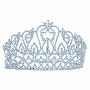 Large Pageant Beauty Contest Tall 11cm Tiara Crown use Crystal