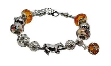 32676dc1b Jewellery Hut Horse Themed Pandora Style Charm Bracelet with Gift Box  Womens Girls Jewellery ...