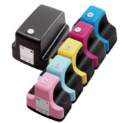 6 Pack HP 02 (1 Black, 1 Cyan, 1 Magenta, 1 Yellow, 1 Light Cyan, 1 Light Magenta ) Ink Cartridge