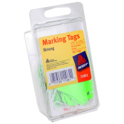 Avery Marking Tags Strung 1-3/4 x 2.5cm - 0.2cm Fluorescent Green Pack of 200