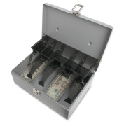 Sparco 5-Compartment Tray Cash Box -