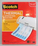 Scotch Thermal Laminating Pouches, Letter Size - 100/PK