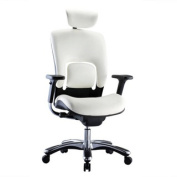 GM Seating Ergonomic Executive Genuine Cow Leather Office Task Chair