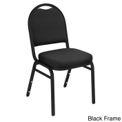 Dome Back Fabric Padded Stack Chair