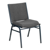Santem Grey Upholstered Stack Dining Chairs