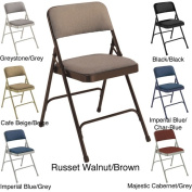 NPS Fabric Upholstered Premium Folding Chairs