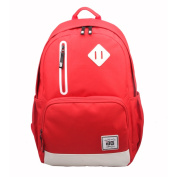 AfterGen Red Back to School 38cm Laptop Backpack