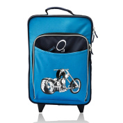Obersee Kids 'Motorcycle' 41cm Rolling Carry On Cooler Upright