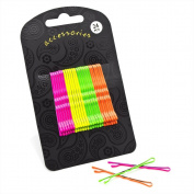 Divadoo Twenty Four Piece Neon Tone Hair Grip Set