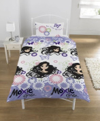 Moxie Girz Single Bed Duvet Cover Character-Place Range of Licenced Bedding