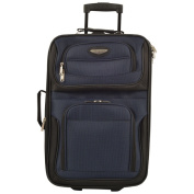 Travel Select by Traveller's Choice Amsterdam 50cm Lightweight Carry On Upright Suitcase