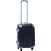 Travellers Club Chicago 50cm Expandable Hardside Carry-on Upright Suitcase