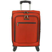 Traveller's Choice Lightweight 60cm Carry On Expandable Spinner Suitcase