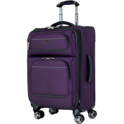Ricardo Beverly Hills Mar Vista Solid 50cm Expandable Carry On Spinner Upright Suitcase