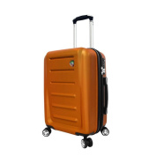 Mia Toro ITALY Moderno 50cm Expandable Hardside Carry-on Spinner Upright Suitcase