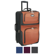 Travel Select by Traveller's Choice Amsterdam 60cm Medium Expandable Upright Suitcase