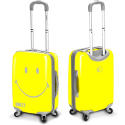 Smiley Classic 80cm Hardside Spinner Upright Suitcase