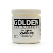 Golden Digital Mixed Media Gel Topcoats w/UVLS