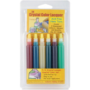 3-D Crystal Lacquer Country Colour Set