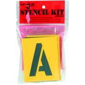 Reusable Stencil Lettering Kit3in